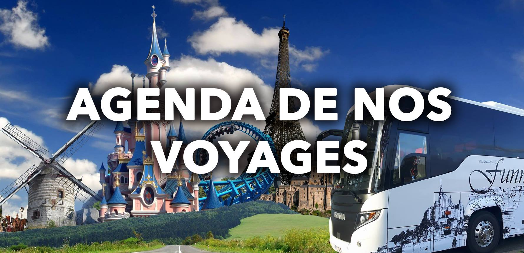 Agenda voyages Funny Tours