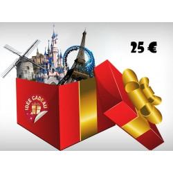 CARTE CADEAU - VALEUR 15 €
