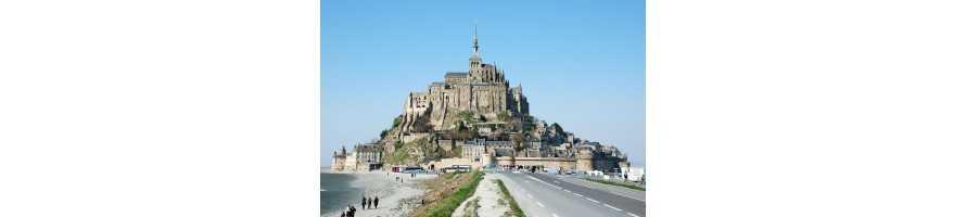 Mont-Saint-Michel, Honfleur et Saint Malo